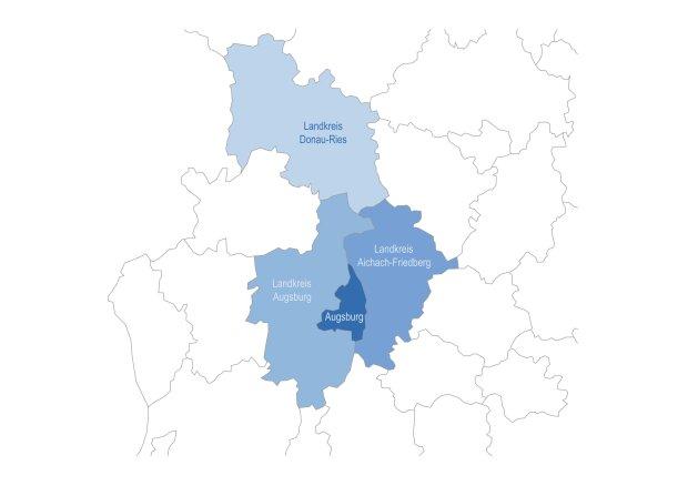Landkreis Augsburg Karte.Aufgaben